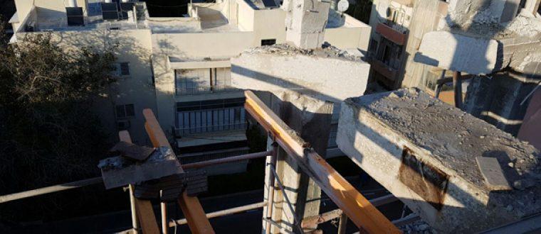 ניסור בטון בתל אביב-